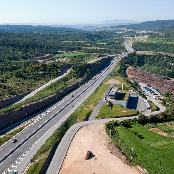 Centre de control de carretera de la C-16